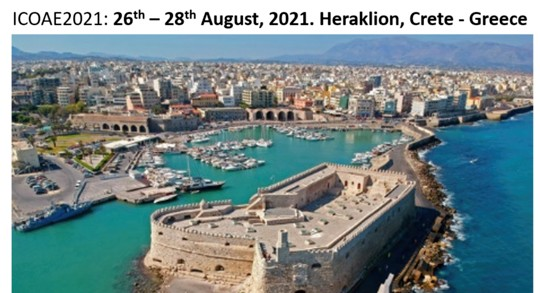 International Conference on Applied Economics (ICOAE 2021) – August 26th-28th, 2021